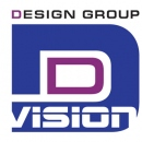 D (логотип D VISION DESIGN GROUP)